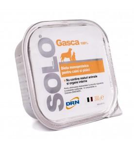 Solo-gasca-hrana-monoproteica-caini-si-pisici-solo-gasca-100%-carne