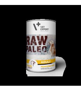raw-paleo-adult-curcan-hrana-umeda-monoproteica-caini-carne-de-curcan-vetexpert